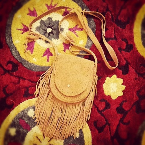Everyone needs a little fringe. (Taken with Instagram at Fire Finch)