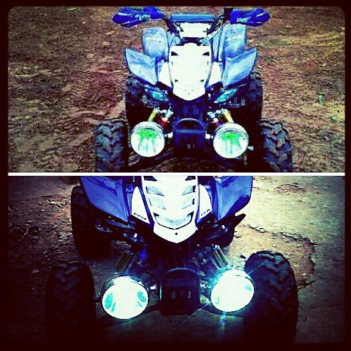 Accion #xenon #atv #nature #quads #blue #2010  (Tomada con instagram)