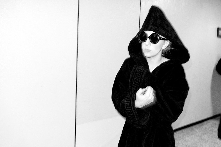 mintblondie:  terrysdiary:  Lady Gaga after the show.  Ghetto fab