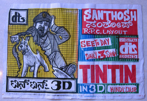 India's Incredibly Cool Hand-Drawn Movie Posters