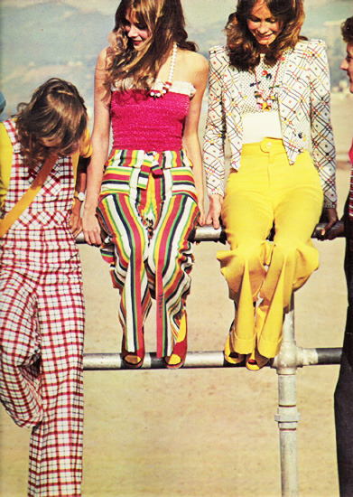 Old is Cool   superseventies:  Rainbow pants… May 1973.