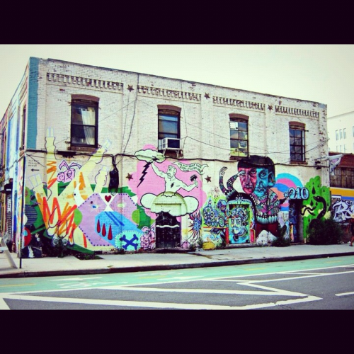 dreamonic:  Brooklyn. I believe the wall was painted over several weeks after I took the picture.