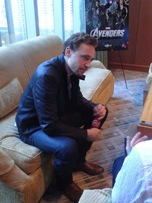 torrilla:  The Infamous Billy The Kidd Chats With Loki Himself, Tom Hiddleston, about THE AVENGERS, The Marvel Movie Universe And THOR 2