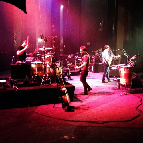 Location 2 - Death Cab For Cutie soundcheck in Knoxville.  (Taken with instagram)