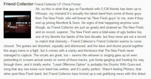 Friend Collector review on Yellow Green Red.