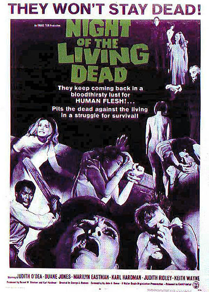 May 1 - Night of the Living Dead (1968) Happy Zombie Awareness month!