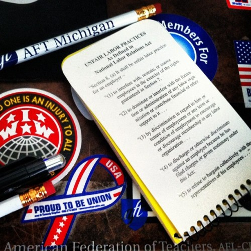 Know your rights! #union #NLRB #NLRA #ULP #MayDay  (Taken with instagram)
