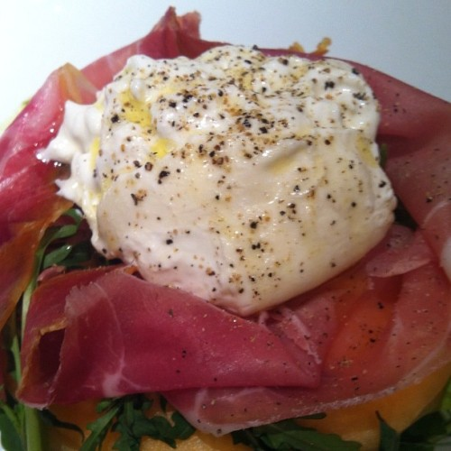 Burrata salad at fig & olive - divine.  (Taken with instagram)