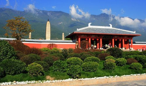 Three Pagodas of Dali == Yunnan == China