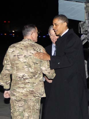 We'll be live streaming Obama's address from Afghanistan tonight at 7.30 p.m. EST.