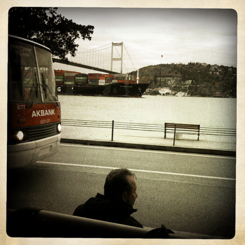 along the bosphorus after a nice turkish breakfast and coffee.. [ bebek, istanbul, turkey ]