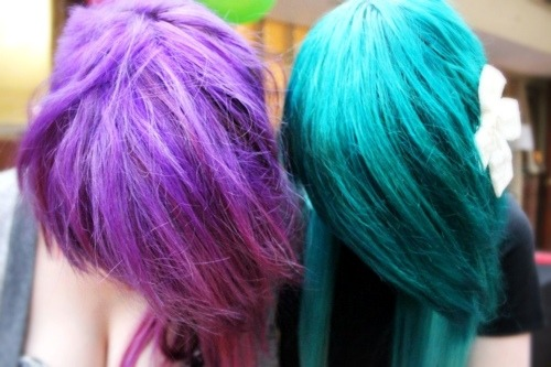 Colored Hair Gallery