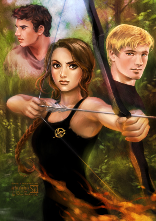 awesomefanart:  Hunger Games Follow this blog