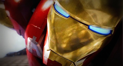 Screen cap of Ironman from The Avengers TV Spot.