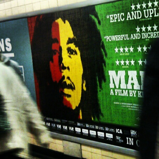 Got to see this when it hits the big screen #Epic #Bob #Marley #BLACKHISTORYMONTH #Rasta #Legend #Music #Culture #Couture #Fashionista #LWYD #DWYL #Love (Taken with instagram)