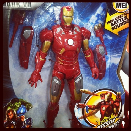 My son got shots so I'm getting him this #ironman  #avengers  #juiced  #marvel  (Taken with instagram)