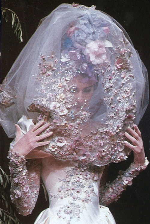 Christian Lacroix Haute Couture 1996  1996 seems like a good year to me.