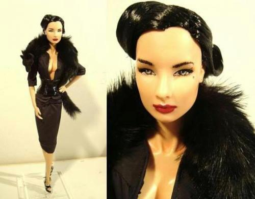Dita Von Teese barbie doll.