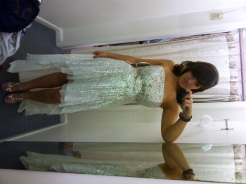 me in my prom dress :)