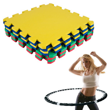 Hoop Exerciser and Exercise Mat 29.99, for a hula hoop and a rubber mat?  Wait… the hula hoop has magnets!  That means it's magic.  This can't possibly be a scam.