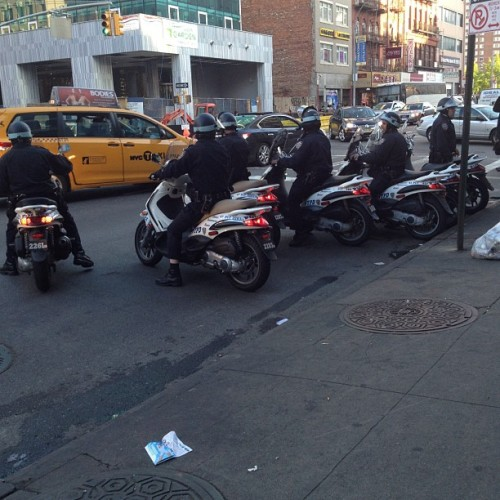 #cops #police feeling occupied (Taken with instagram)