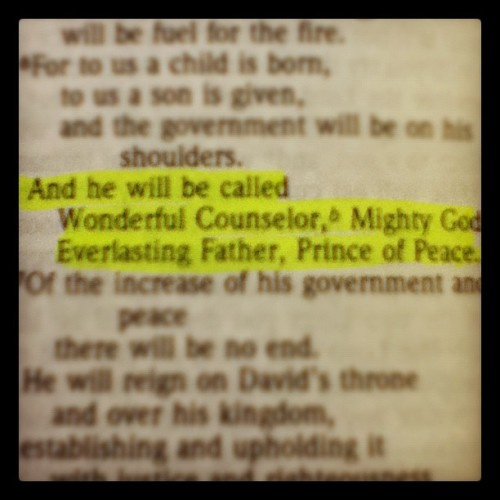 1. Peace. Jesus is peace. #princeofpeace #photoadaymay  (Taken with instagram)