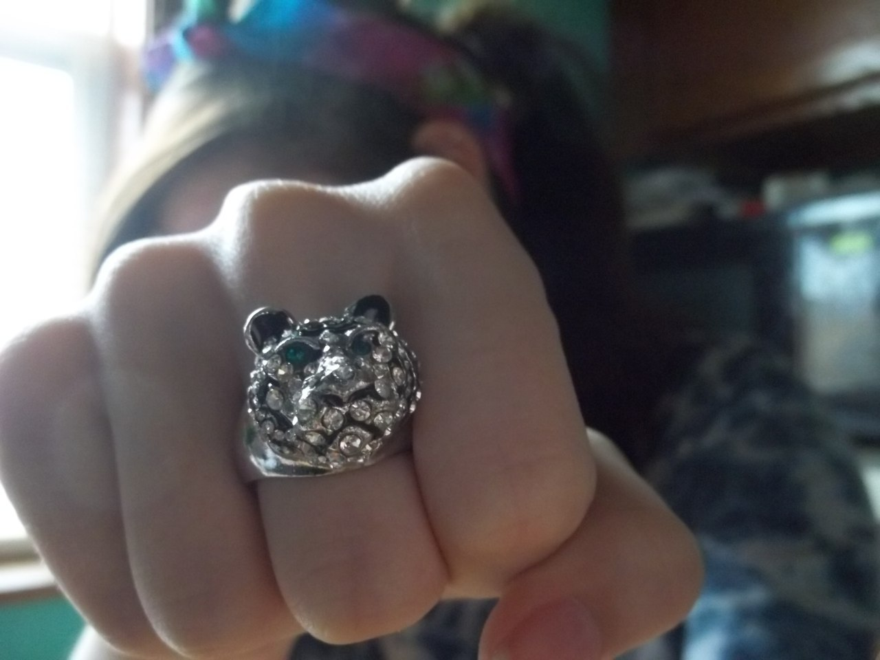 New tiger ring.