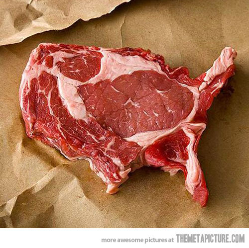 United Steak of America.