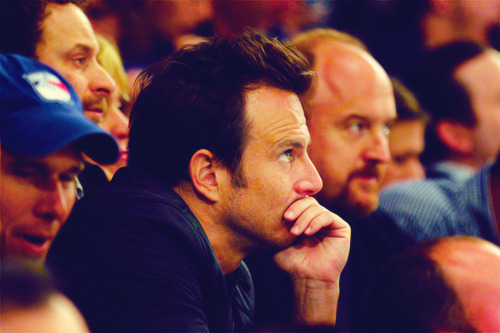 fearinthesky:  Will Arnett and Louis C.K. attend Game Two of the Eastern Conference Semifinals between the New York Rangers and the Washington Capitals - April 30, 2012