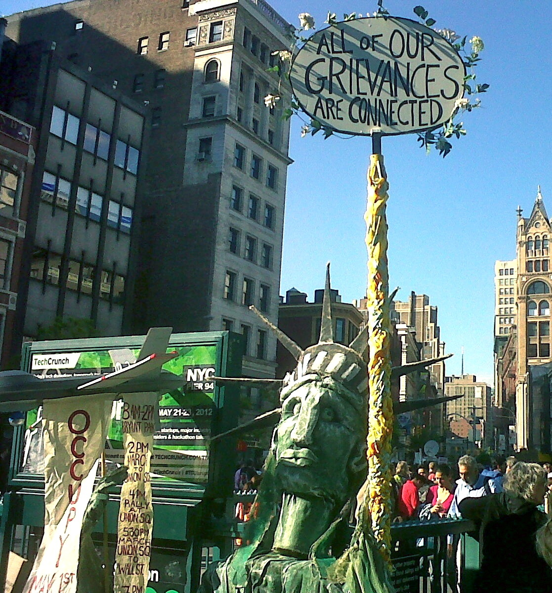 Occupy May Day in Union Square
