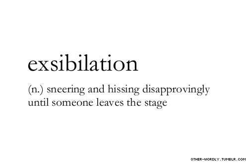 "other-wordly:  pronunciation | \ek-""sib-il-'A-shun\ submitted by 