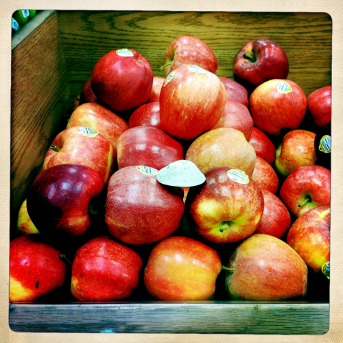 love letter: an apple a day… location: trader joe's, silverlake