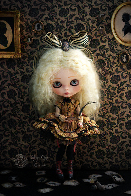 "I am not a mirage by Rebeca Cano ""Cookie dolls"" on Flickr."