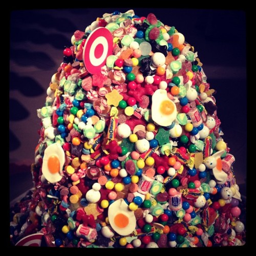 @TargetStyle mound of candy via The Candy Store. We feel sick. -MS (Taken with instagram)