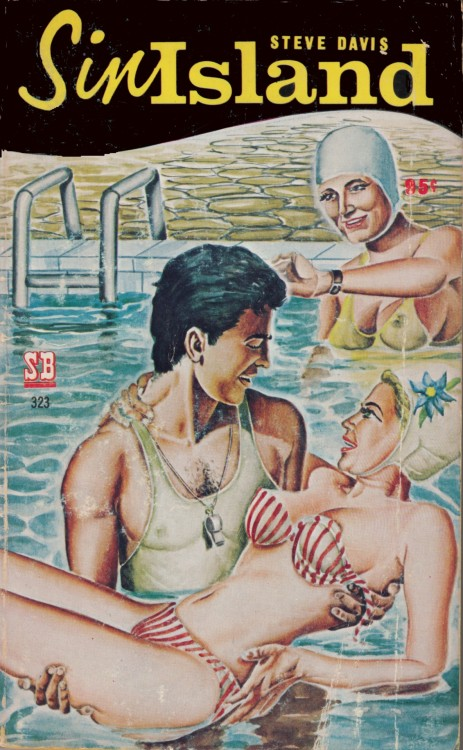Sin Island  ANYTHING GOES  (No Hair in Pool) Spotlight / Neva books 1968
