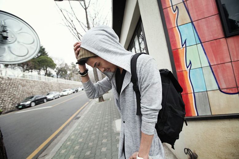 Zinif Grey Modern Hood Cardigan Probably my favorite piece out of our last shipment for the store. Has a bit of a thin feel to it in comparison to other cardigans I've own/wear which is actual what I'm looking for with the heat coming up so going to probably take one from the warehouse for myself =p With that, depending on the shirt you wear underneath, there is a slight see through, so if you're wearing a graphic shirt you'll see the graphics, so the attire in the picture i think fits perfect. just a solid tee of some sort fits just fine though I like tees with print so thats what I usually wear. Other then that.. just love it. www.showroom82.com