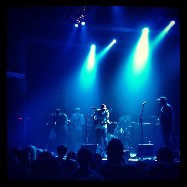 Real Estate opening up for The Shins #theshins (Taken with Instagram at Terminal 5)