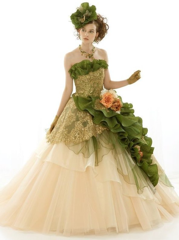 figjamlolita:  Sweet Colour Bride