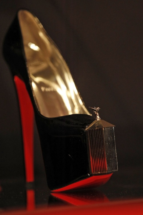 monteeq:  zhubi:  Shoe porn via new Christian Louboutin exhibit at the Design Museum in London  WOW @@""