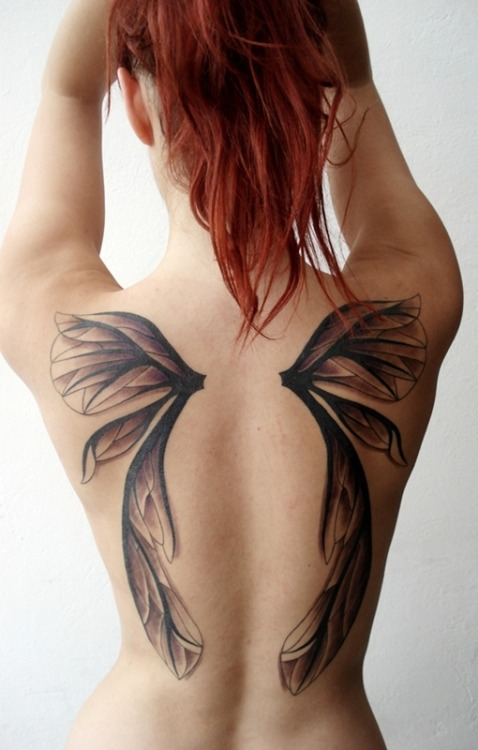"fuckyeahtattoos:  done by Mario (tattoo studio ""Tiamat"", Zadar)…designed by ChaosFay"