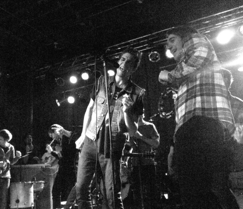 The Maine, Lydia, and Arkells-Little Help From My Friends cover. Des Moines, IA April 28, 2012