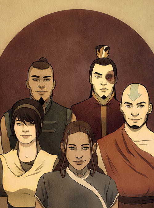 jesic:  Avatar Team, by andrahilde