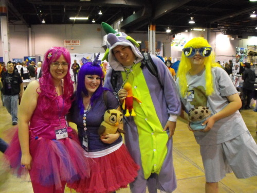Made it my goal at ACen to take photos with all the fellow ponies I could fine! Almost got all of the mane six. ;)