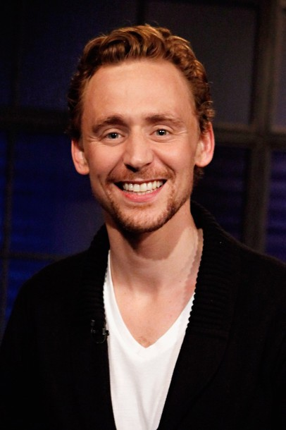 Tom Hiddleston visits fuse's 'Hoppus On Music' at fuse Studios on April 30, 2012 in New York City.