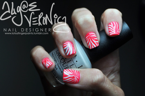 Zebra print on hot pink!