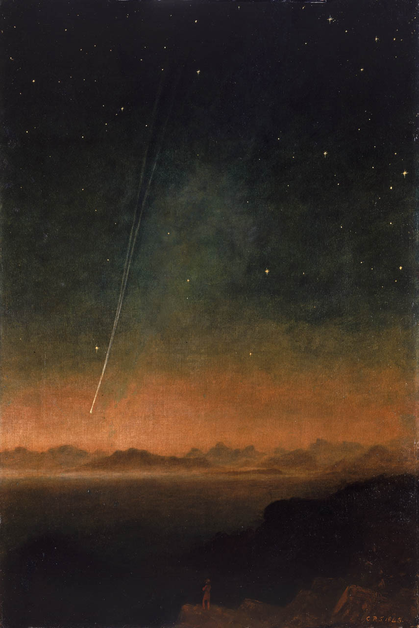 themetropolitanline:  The Great Comet of 1843 by Charles Piazzi Smyth (c. 1840s) (via soircharmant, therapyinminneapolis, flasd, mindykindylindy)