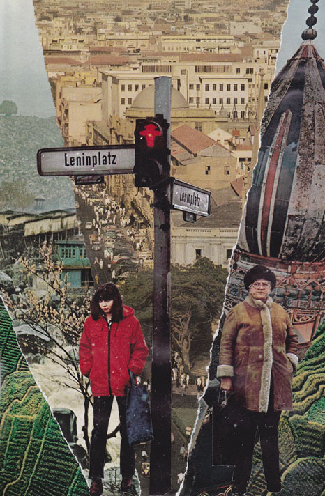 """Leninplatz"" by: aricollage Analogue collage"