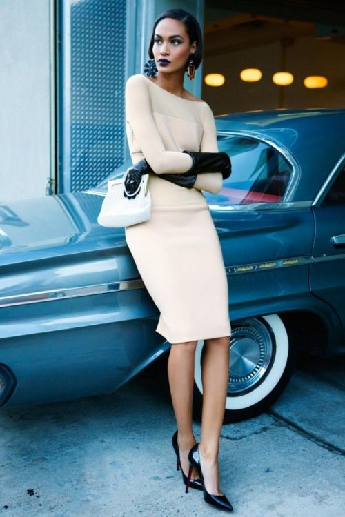 style4style:  Elegant — Joan Smalls for Vogue Australia, May 2012