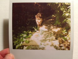 This weekend I took my first double exposure Polaroid ever of someone other than me. It's my beautiful friend Finch (finchdown.tumblr.com - links never work on my phone).  It feels so good to love a photo again.