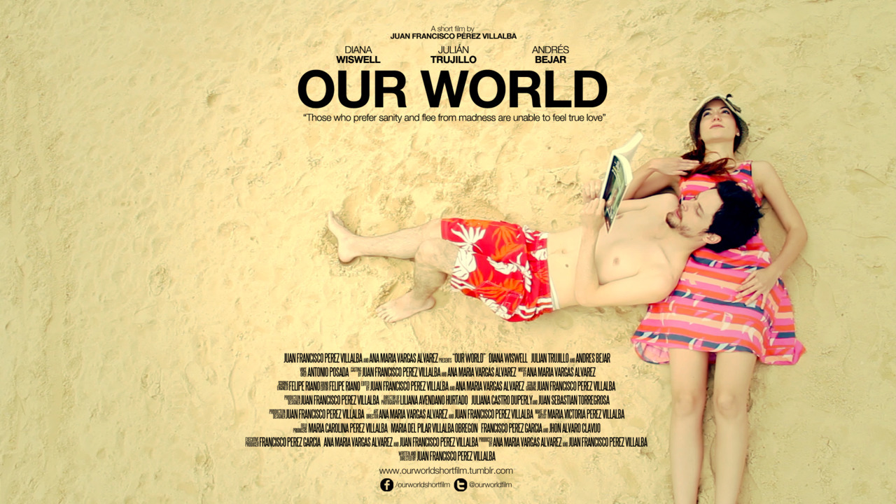 "OUR WORLD SHORT FILM Someone once said ""Those who prefer sanity and flee from madness are unable to feel true love"". As in every love story this one has a man and a woman as main characters, although it takes place at a mental institute. Dave and Sarah had been interned for a long time but their eyes had never met before… until that day. It was love at first sight and from that moment on, each one of them would leave their own world to build one together. The short film was witten & directed by Juan Francisco Pérez Villalba. Visit & follow us: http://www.ourworldshortfilm.tumblr.com https://www.facebook.com/ourworldshortfilm https://twitter.com/ourworldfilm"